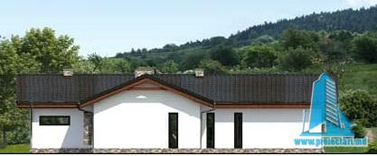 fatada-4 Proiect de casa cu parter