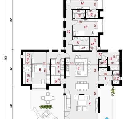 parter Proiect de casa cu parter