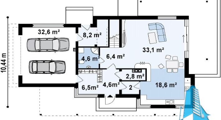 proekt-dvuxetazhnogo-doma-s-garazhom-dlya-dvux-mashin-4