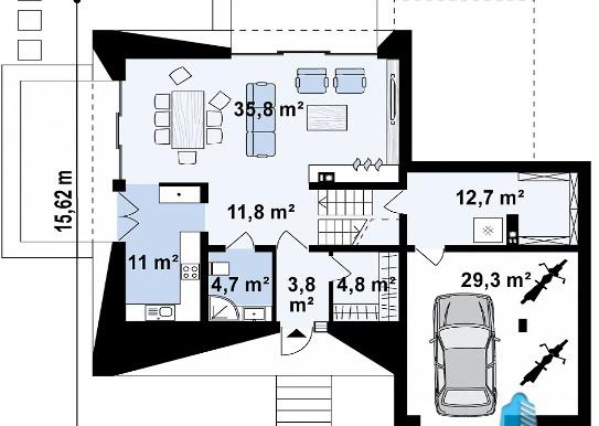 proekt-dvuxetazhnogo-doma-s-garazhom-dlya-odnogo-avtomobilya-p