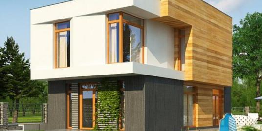 Proiect de casa cu parter si etaj-100724