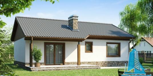 Proiect de casa cu parter -100819