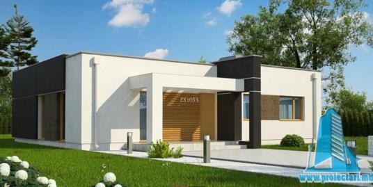 Proiect de casa cu parter -100722