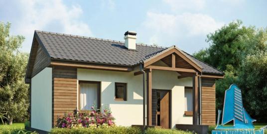 Proiect de casa cu parter -100737