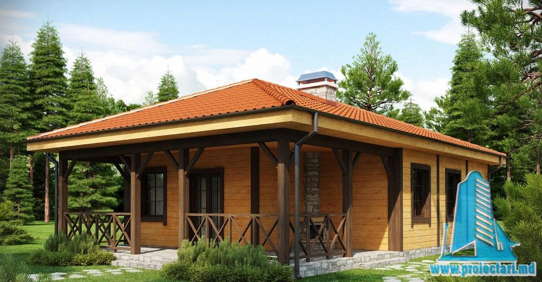 Proiect de casa cu parter -100742
