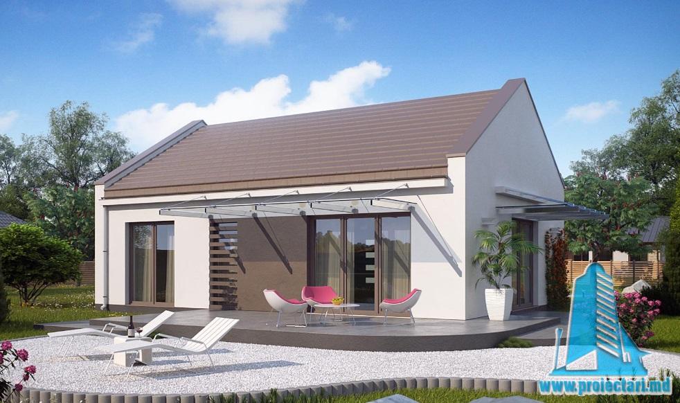 Proiect de casa cu parter -100761