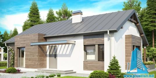Proiect de casa cu parter -100765