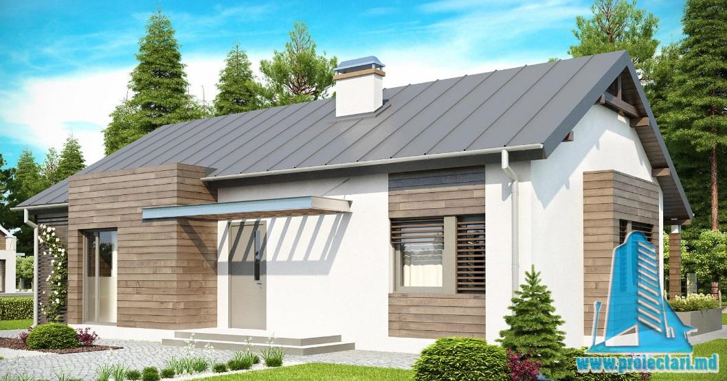 Проект дома с партером -100765