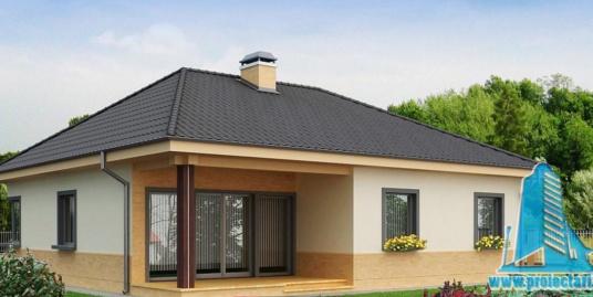 Proiect de casa cu parter -100725