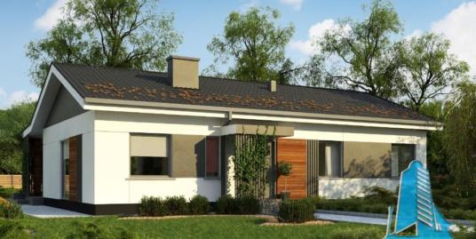 Proiect de casa cu parter -100782