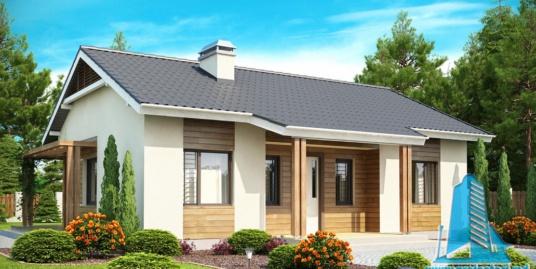 Proiect de casa cu parter -100814