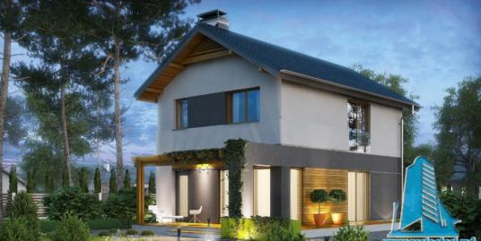 Proiect de casa cu parter, etaj -100734
