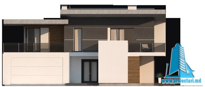 proiect-de-casa-cu-parter-etaj-si-garaj-pentru-doua-automobile-fatada