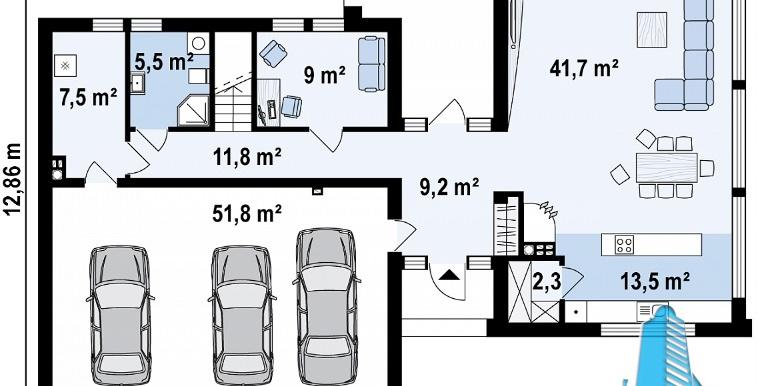 proiect-de-casa-cu-parter-etaj-si-garaj-pentru-trei-automobile-p