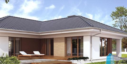 Proiect de casa  cu parter si garaj pentru doua automobile-100782