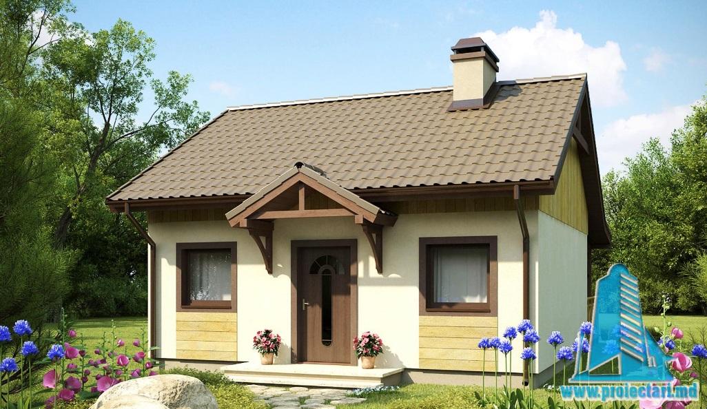 Proiect de casa cu parter -100747