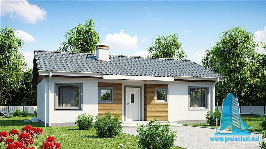 Proiect de casa cu parter -100794