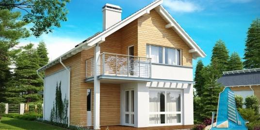 Proiect de casa cu parter si etaj-100851