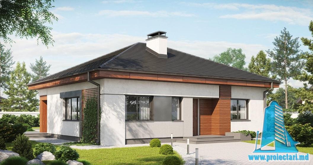 Proiect de casa cu parter-100876
