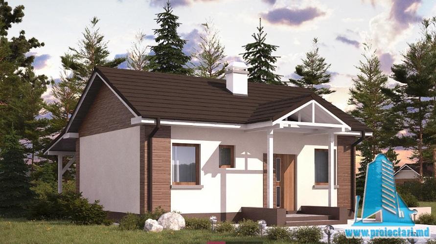 Proiect de casa cu parter -100864
