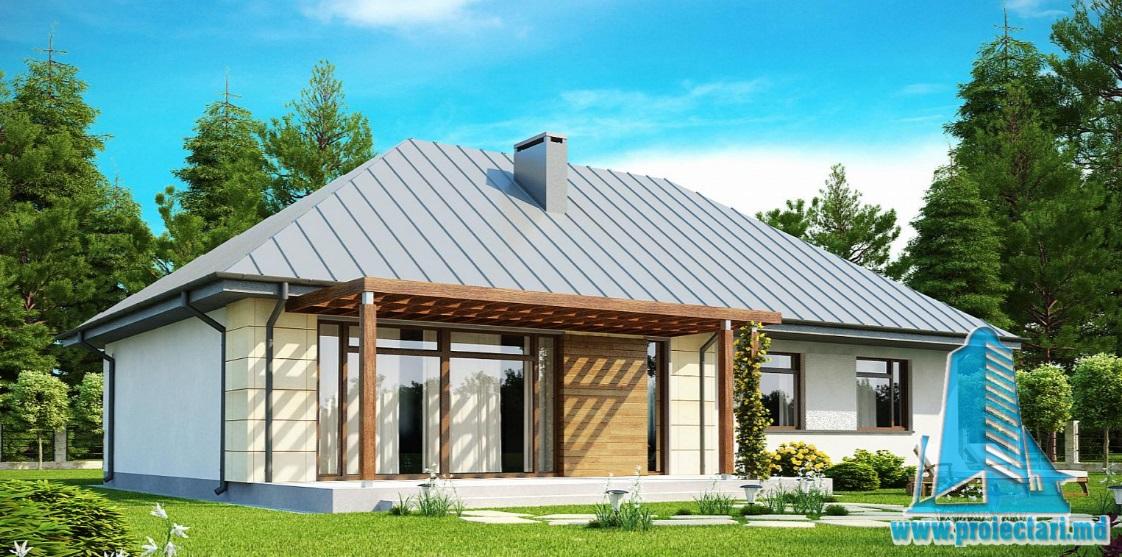 Proiect de casa cu parter -100855
