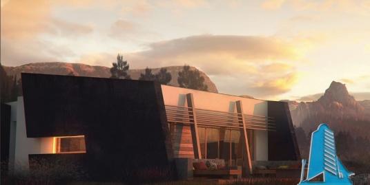 Proiect de casa cu parter -100852