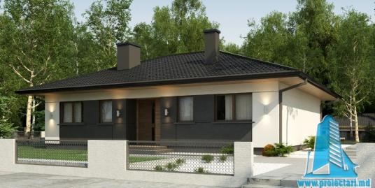 Proiect de casa cu parter -100837