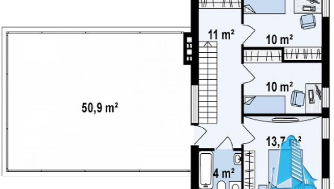 proiect-de-casa-cu-parter-etaj-si-garaj-pentru-doua-automobile-e