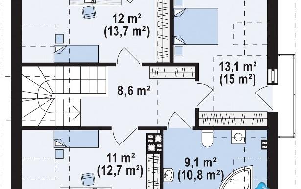 proiect-de-casa-cu-parter-mansarda-e