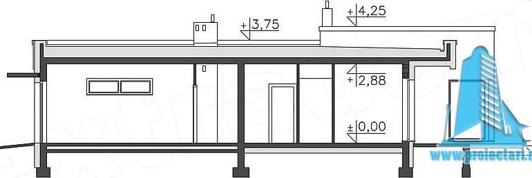 proiect-de-casa-cu-parter-si-garaj-pentru-un-automobil-sectiune