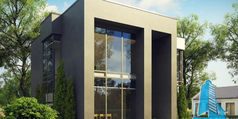 Проект двухэтажного офисное здание1