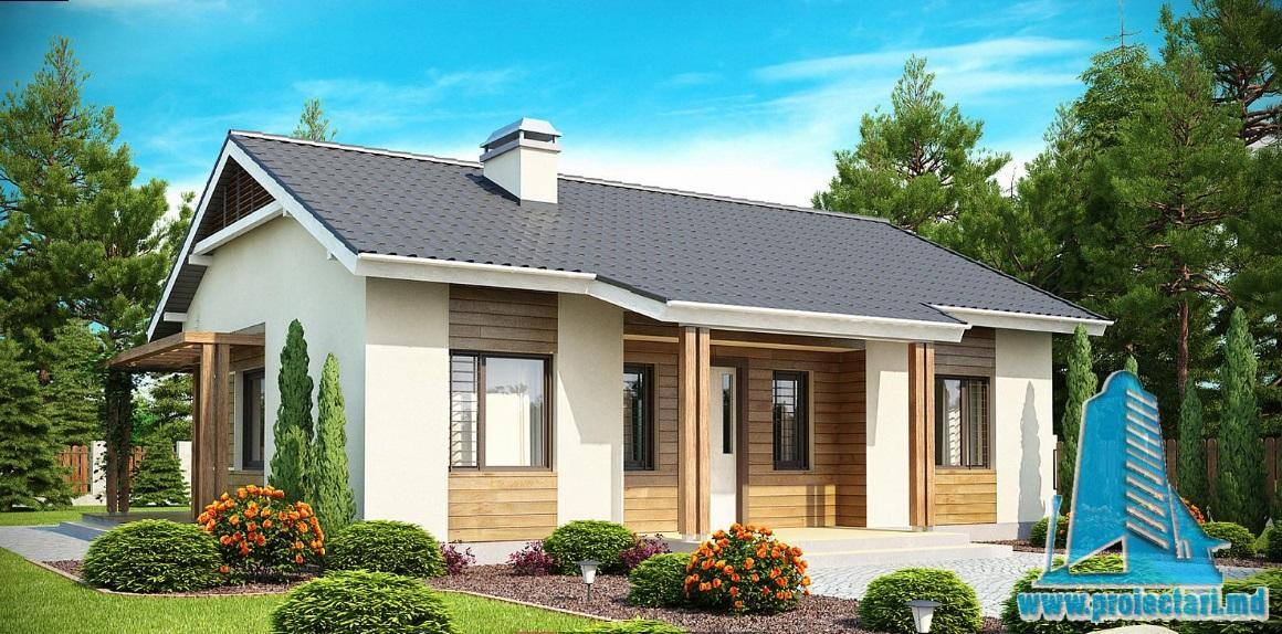 Proiect de casa cu parter -100914