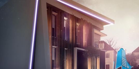 Proiect de cladire cu parter, etaj pentru oficii-100929