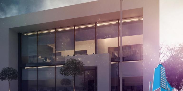 Proiect de cladire pentru oficii cu parter, etaj 1