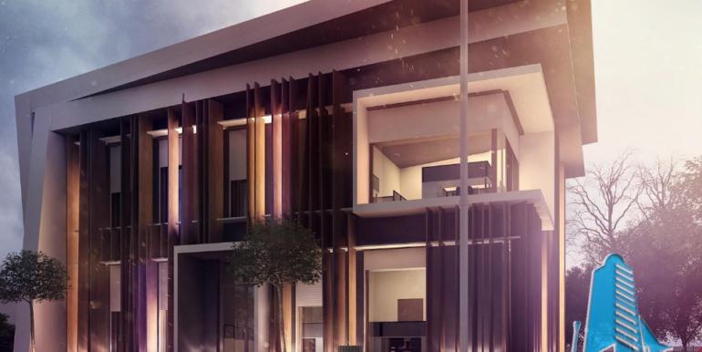 Proiect de cladire pentru oficii cu, parter, etaj 2
