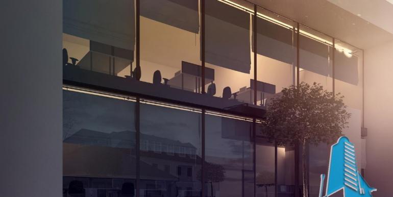 Proiect de cladire pentru oficii cu parter, etaj 2