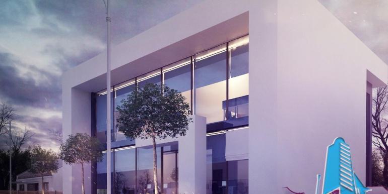 Proiect de cladire pentru oficii cu parter, etaj 3