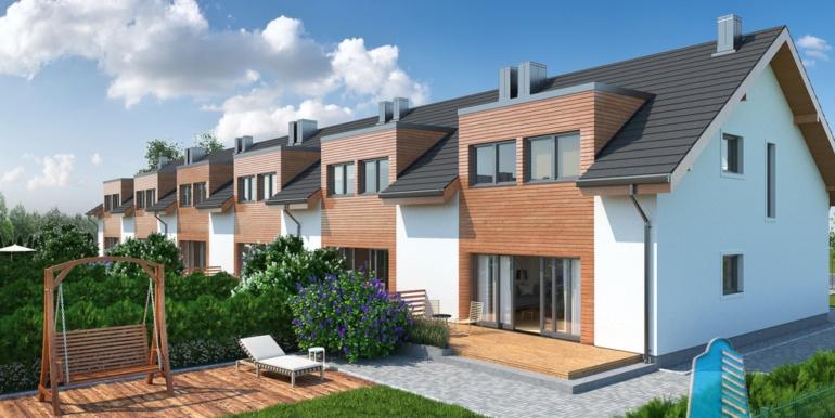 proiect de casa duplex townhouse cu garaj si terasa de vara 1