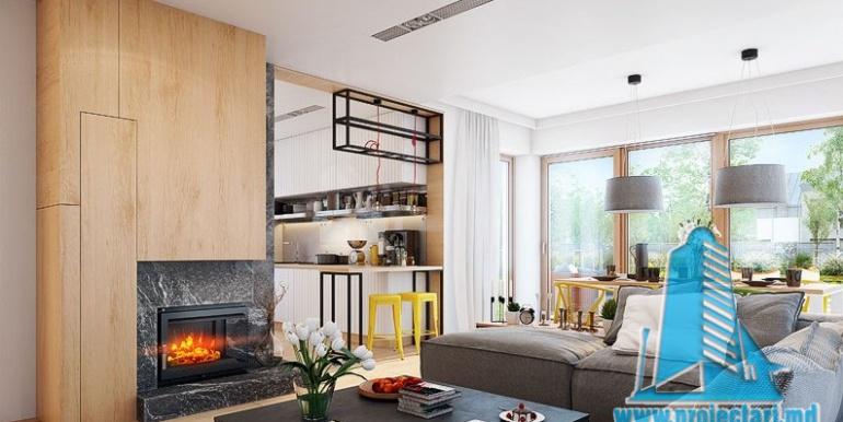 Design interior salon sufragerie