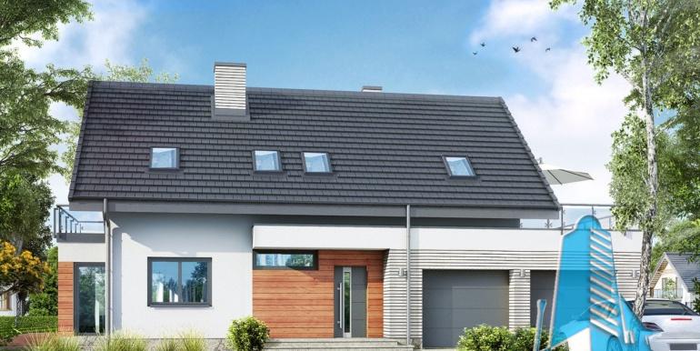 Proiect de casa cu mansarda2