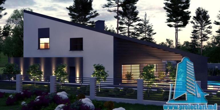 Proiect de casa cu un etaj si terasa mare3