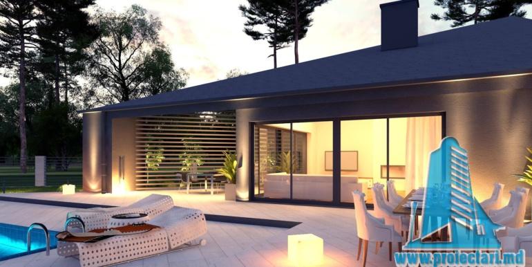 Proiect de casa cu un etaj si terasa mare4