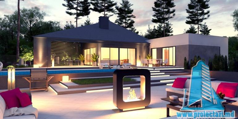 Proiect de casa cu un etaj si terasa mare5