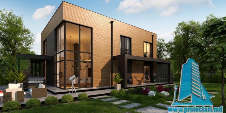 proiect de casa cu doua etaje
