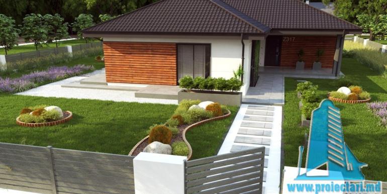 proiect de casa mica ieftina fara garaj pina la 150m25