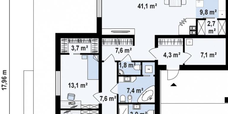 proiect de casa mica ieftina fara garaj pina la 150m27