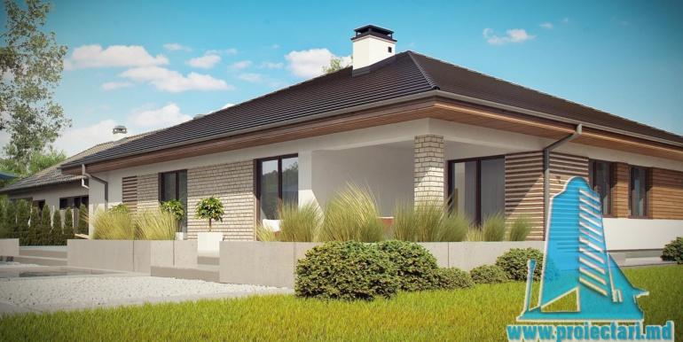 десигн проект дома с гаражом 230м2