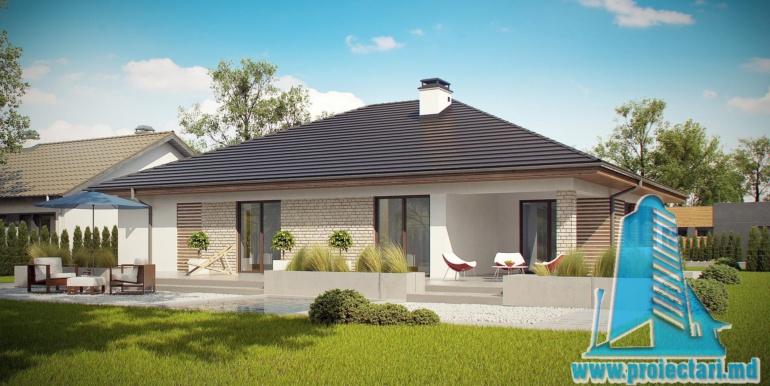 проект дома с гаражом 230м2