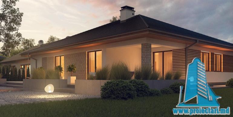 проект дома с гаражом 230м21
