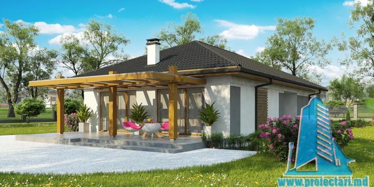 design terasa de vara cu lemn